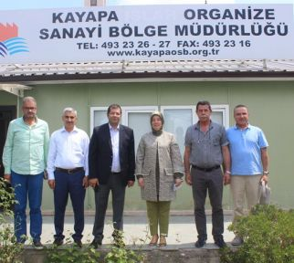 VEKİL GÖZGEÇ'TEN KAYAPA OSB'YE TAM NOT